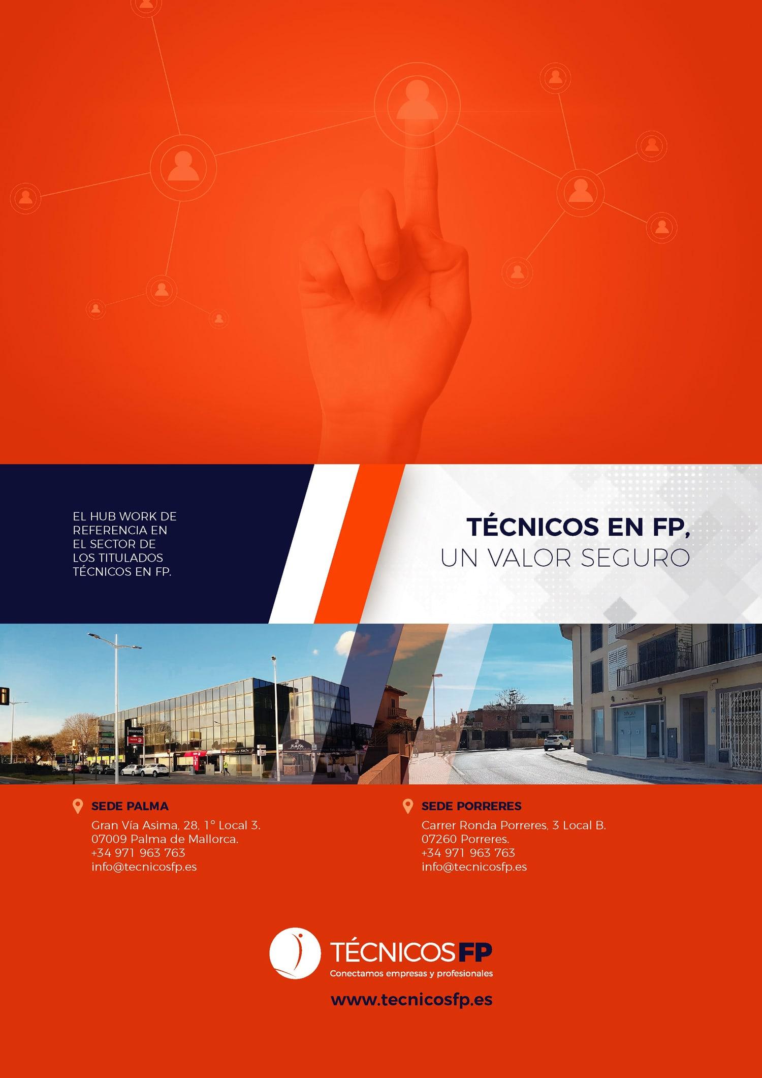 Técnicos FP Emailing de presentación de empresa