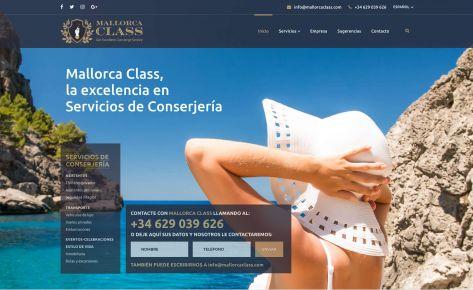 Identidad corporativa de Mallorca Class