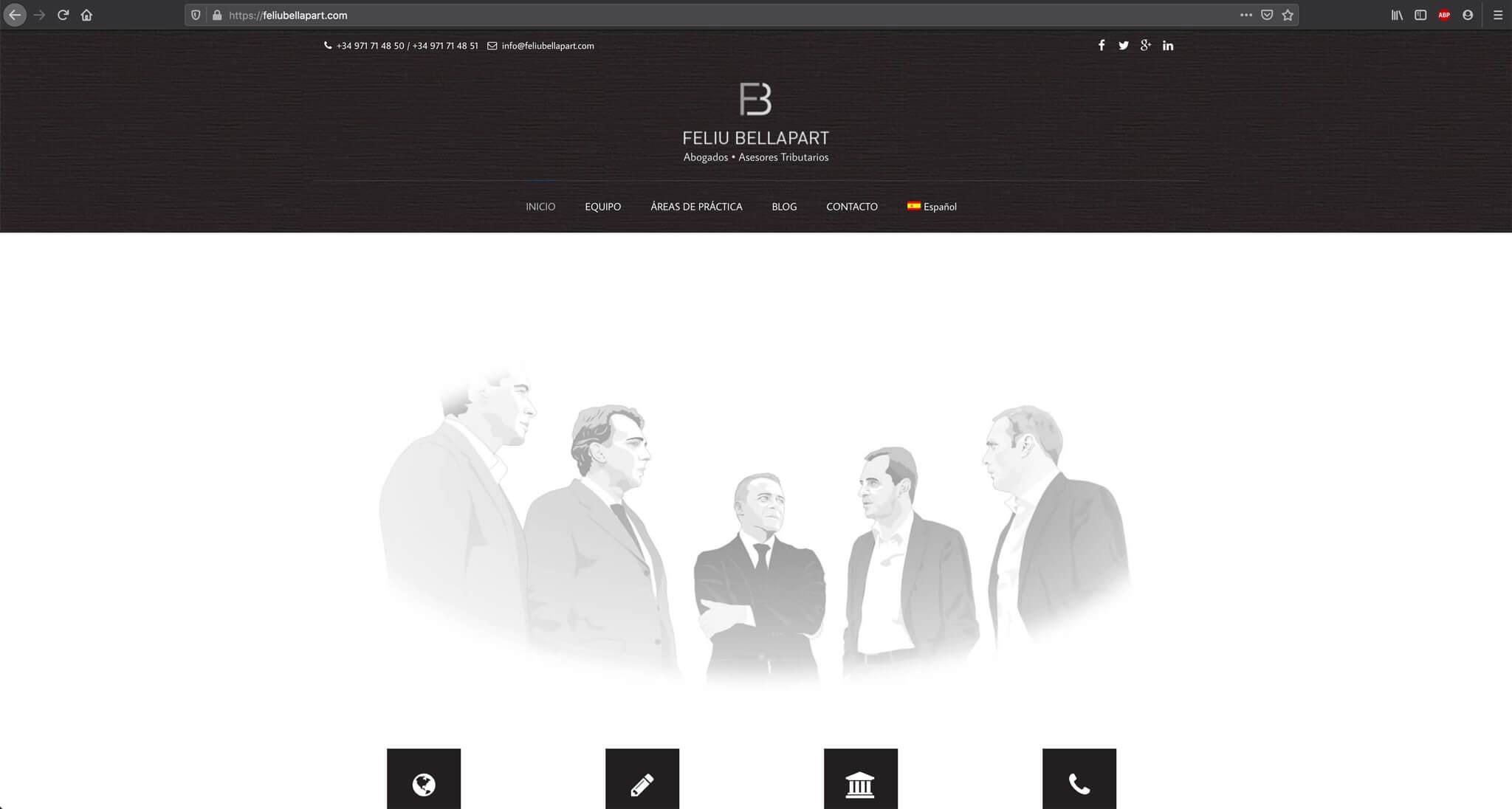 Website- Feliu Bellapart - Home