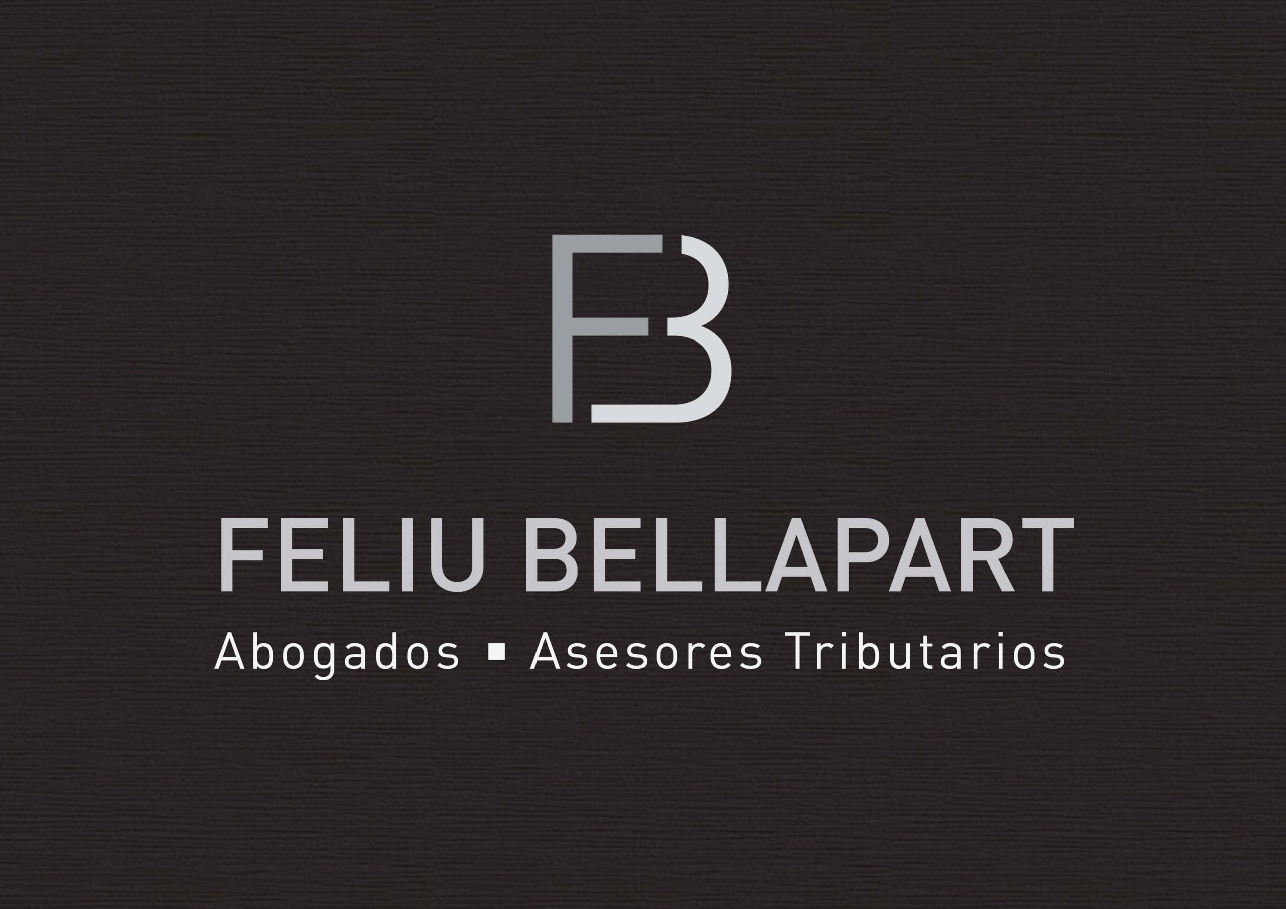 Feliu Bellapart Abogados - logotipo fondo oscuro