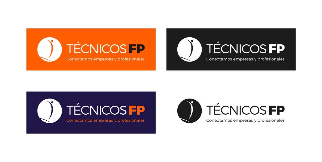 Tecnicos-FP-diseño-logotipo-variantes