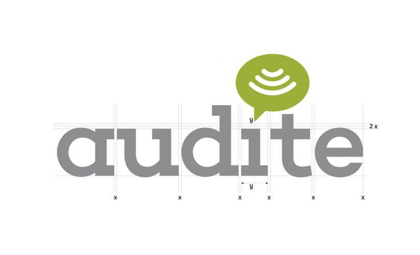 Identidad corporativa de Audite