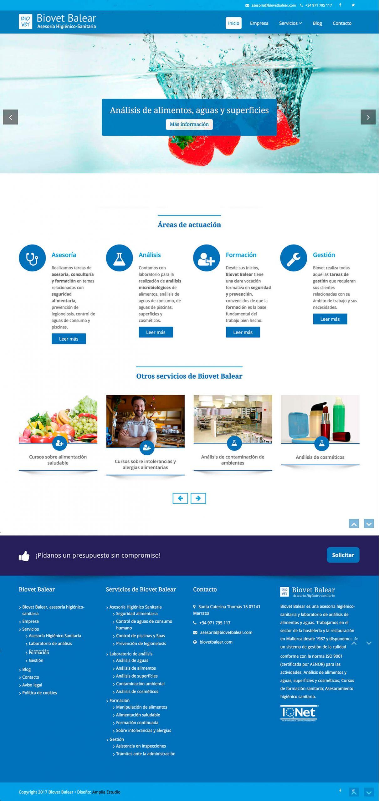 Diseño-web-Biovet-Balear-Home