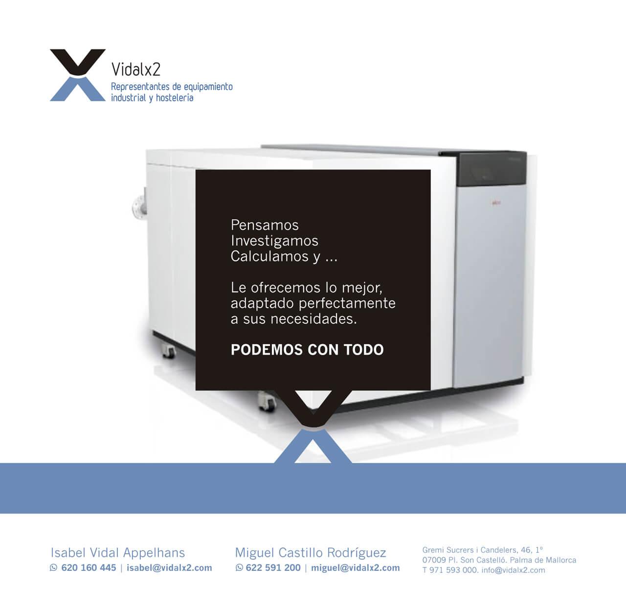 Imagen corporativa - Vidalx2 - Industrial