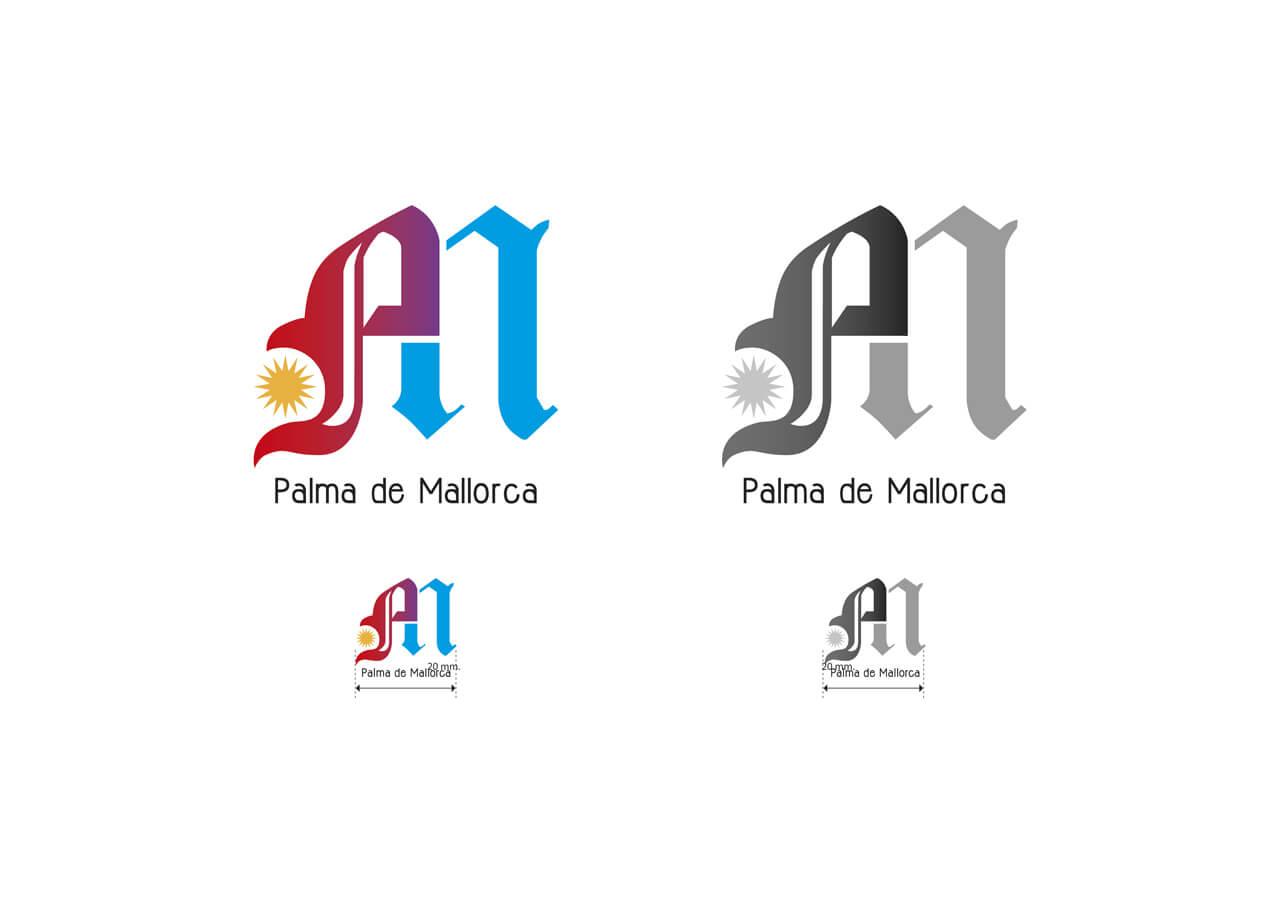 Logotipo PM - Concurso Ajunt Palma - 2012
