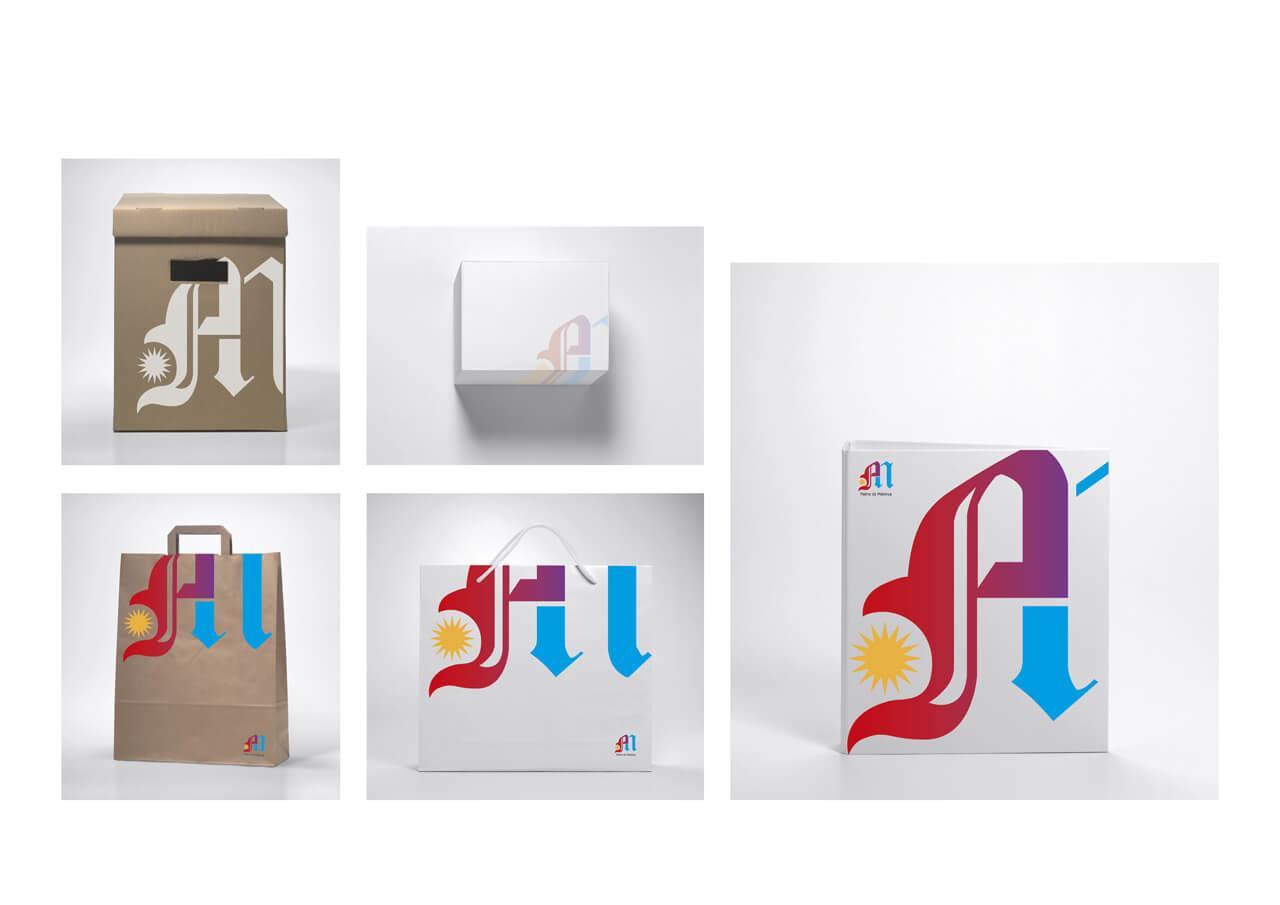 Merchandising logo PM-Concurso Ajunt-Palma - 2012